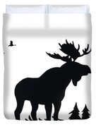 Moose Nature Duvet Cover