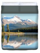 Moose On The Lake Duvet Cover