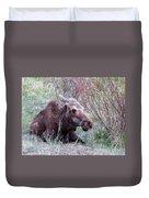 Moose Relaxing Duvet Cover