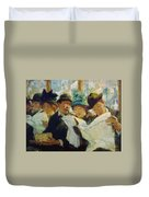 Mora Morning News C1912 Duvet Cover