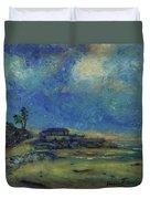 Moran Lake Santa Cruz California Landscape 9 Duvet Cover