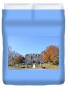 Moravian College Duvet Cover by Bill Cannon