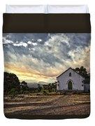 Moravian Sunset Duvet Cover
