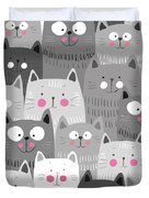 More Cats Duvet Cover