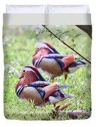 More Mandarin Ducks Duvet Cover