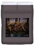 More Roots In Creek Duvet Cover
