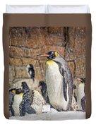 More Snow - King Penguin Duvet Cover