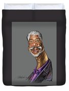 Morgan Freeman Duvet Cover