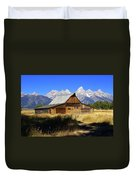 Mormon Row Barn 2 Duvet Cover