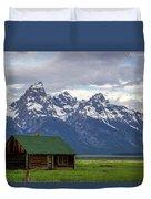 Mormon Row Barn Duvet Cover