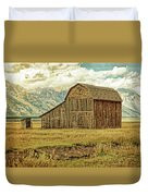 Mormon Row Barn No 3 Duvet Cover