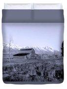 Mormon Row Duvet Cover