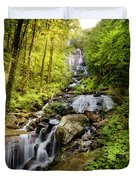 Morning At Amicalola Falls Duvet Cover