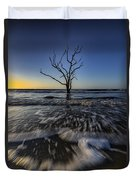 Morning At Botany Bay Plantation Duvet Cover