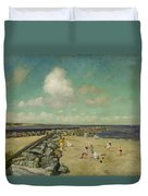Morning At Breakwater, Shinnecock Duvet Cover
