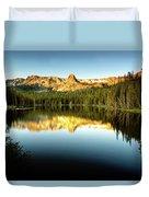 Morning At Lake Mamie Duvet Cover