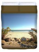 Morning At Qgunquit Beach. Duvet Cover