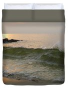Morning At The Edge Of The Continent Duvet Cover