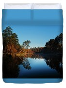 Morning At The Lake Duvet Cover