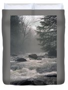 Morning At The River Duvet Cover