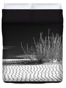 Morning At White Sands  Duvet Cover