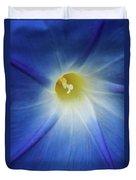 Morning Blue Duvet Cover