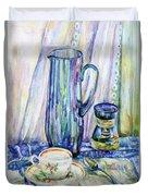 Morning Coffee. Duvet Cover