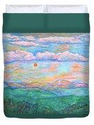 Morning Color Dance Duvet Cover