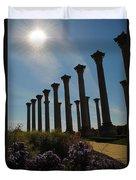 Morning Column Light Duvet Cover