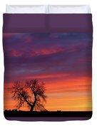 Morning Country Sky Duvet Cover
