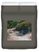 Morning Dew At Pendleton Park 2 Duvet Cover