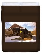 Morning Finds The Rowell Bridge Duvet Cover