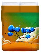 Morning Glory Duvet Cover by Cindy Thornton