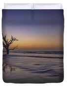 Morning Glow On Edisto Island Duvet Cover