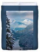Morning In Bavaria Duvet Cover