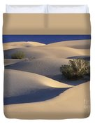Morning In Death Valley Dunes Duvet Cover