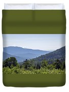 Morning In New Hampshire Duvet Cover