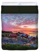Morning In The Archipelago Sea Duvet Cover