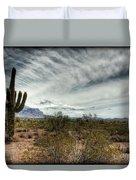 Morning In The Desert Duvet Cover
