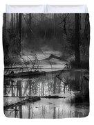 Morning In The Swamp Duvet Cover
