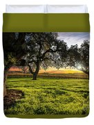 Morning In Wine Country Duvet Cover