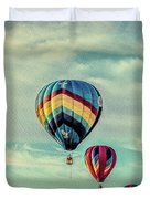 Morning Lift Off  Two Duvet Cover
