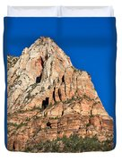 Morning Light In Zion Canyon Duvet Cover