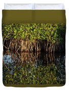 Morning Light Mangrove Reflection Duvet Cover