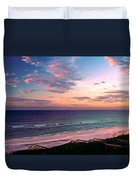 Morning Light On Rosemary Beach Duvet Cover
