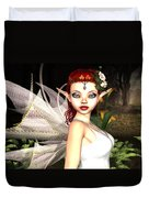 Morning Lily Fairy Duvet Cover