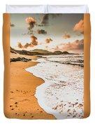 Morning Marine Wash Duvet Cover