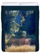 Morning Marsh Sunshine Duvet Cover