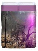 Morning Misty Flare Duvet Cover