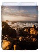 Morning Ocean Panorama Duvet Cover